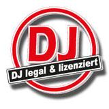 1AHR-DJ - GEMA-lizensiert - mit legaler Musik & angemeldet